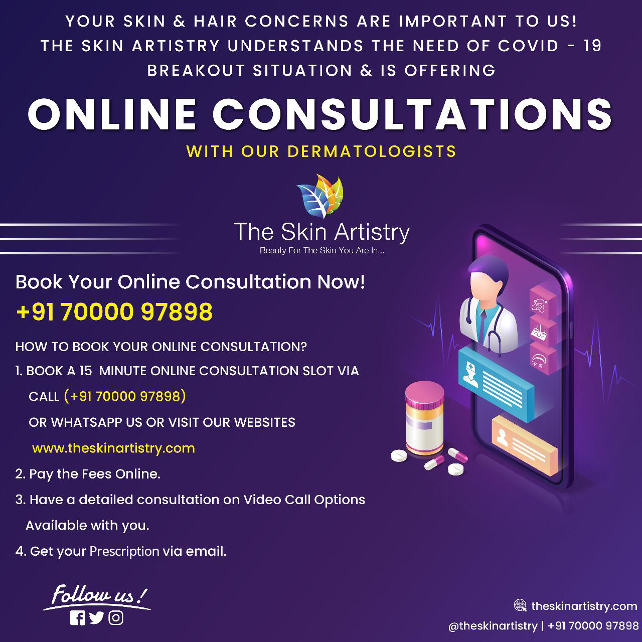 Online-Hair-Skin-Consultation-Theskinartistry